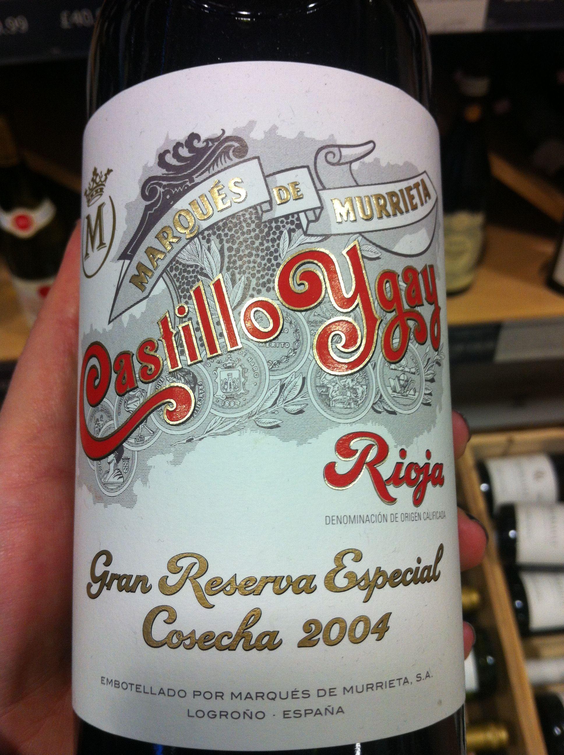 Marques de Murrieta Rioja