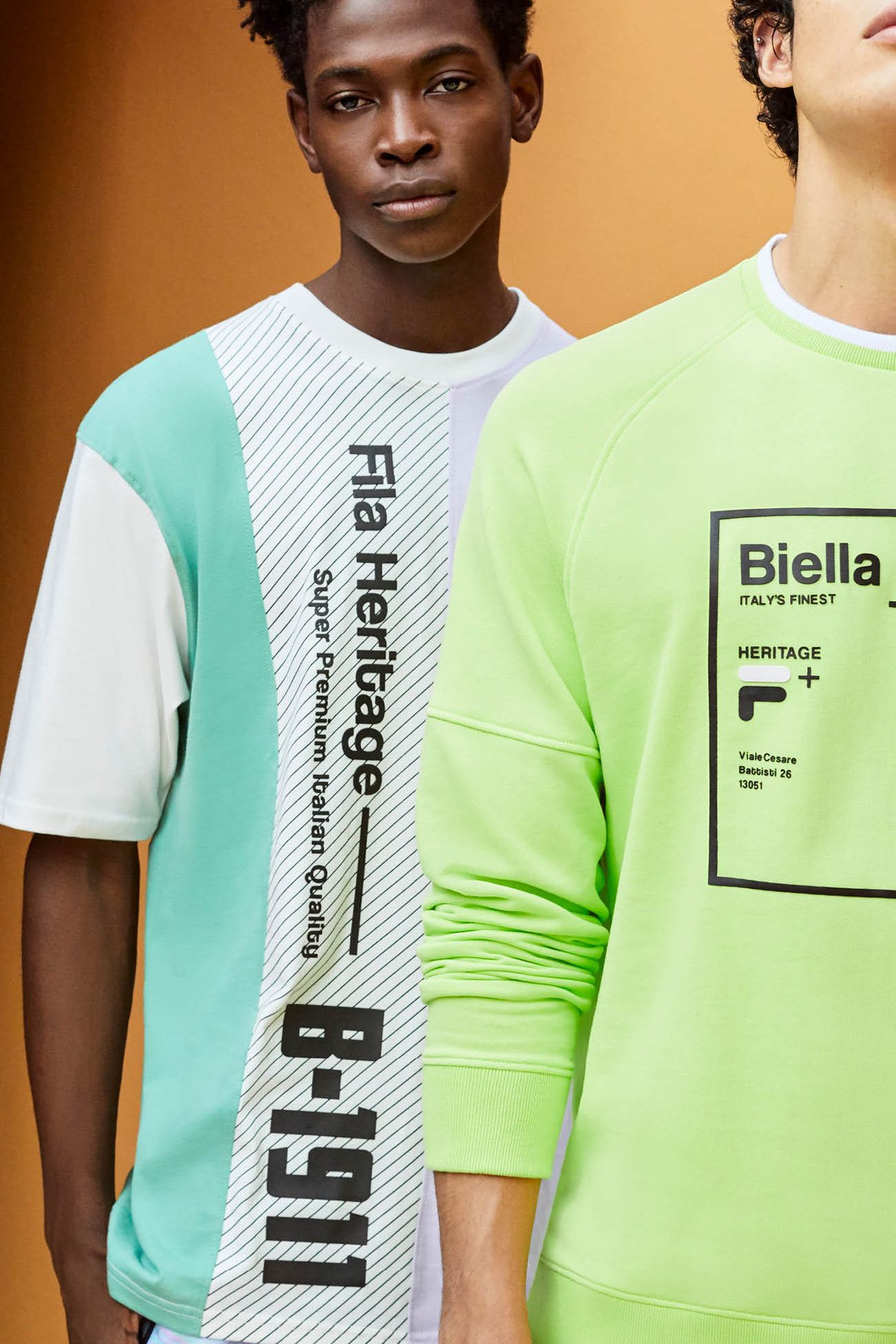 1c861fef7dd Take a Look at FILA's Archive-Inspired SS19 Lookbook in 2019 | Oh So ...