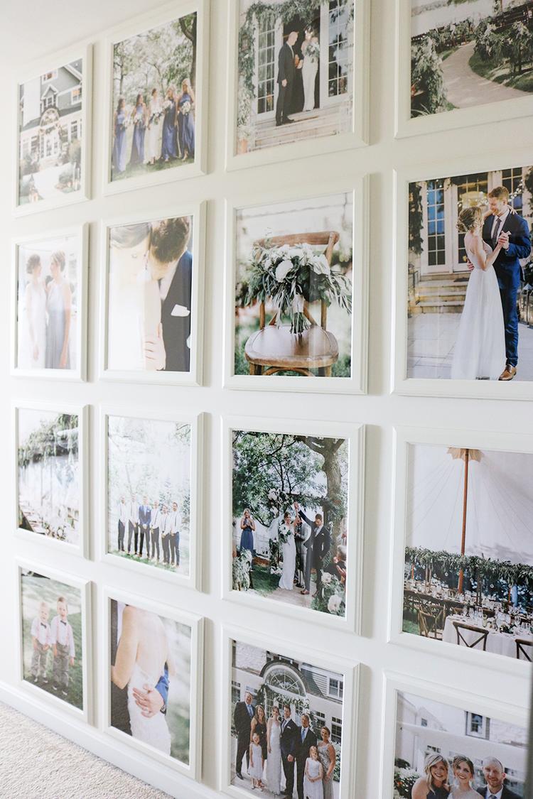 How To Display Family Photos Wedding Photo Walls Wedding