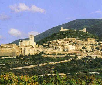 My favorite Italian city.....ASSISI