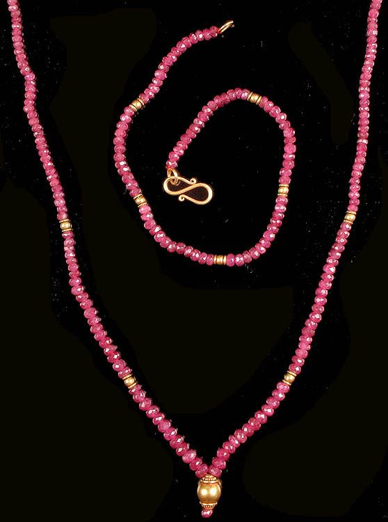 Amazon.com: ruby Jewelry Sets - See more stunning jewlry at StellarPieces.com!