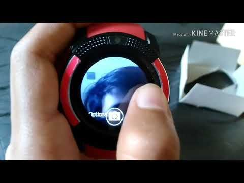 Smartwatch V8 | Things to wear | Smart watch, Watches, Mk watch