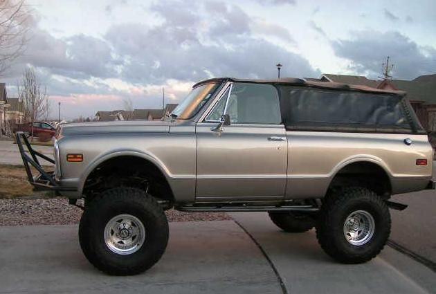 1972 Chevy K5 Blazer Addicted Offroad Chevy Classic Chevy