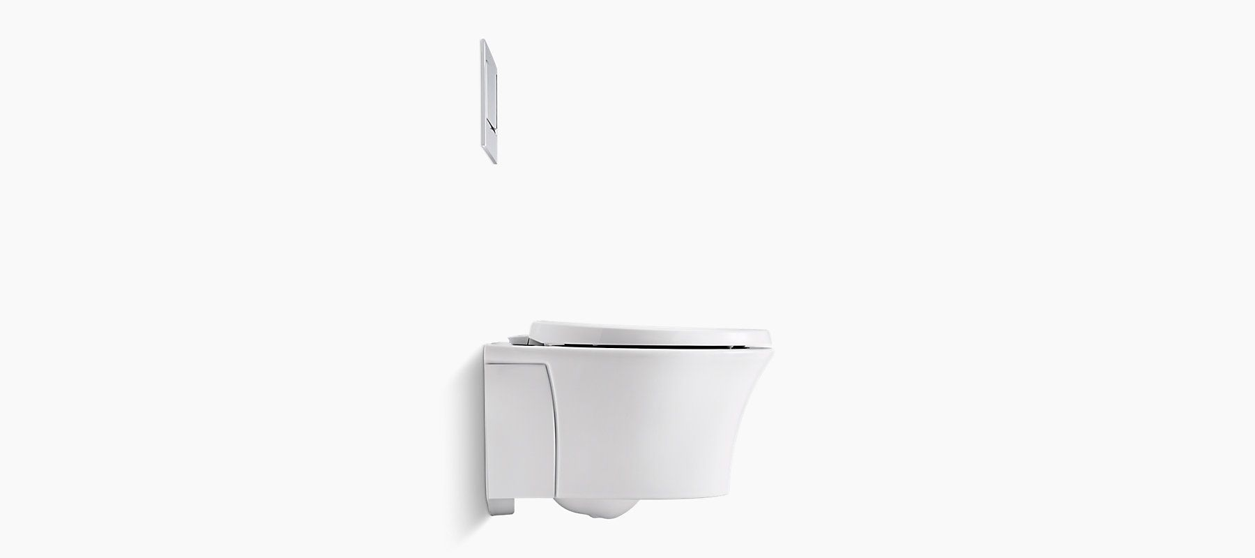 K 6299 Veil Wall Hung Toilet Bowl With Reveal Seat Kohler Wall Hung Toilet Toilet Bowl Dual Flush Toilet