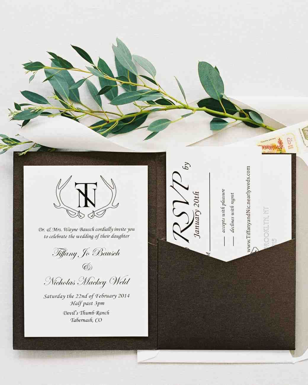 34 Unexpected Winter Wedding Invitations   February wedding, Winter ...