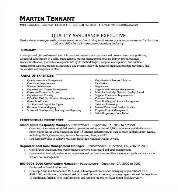 1 Page Resume Examples 1-Resume Examples One page resume