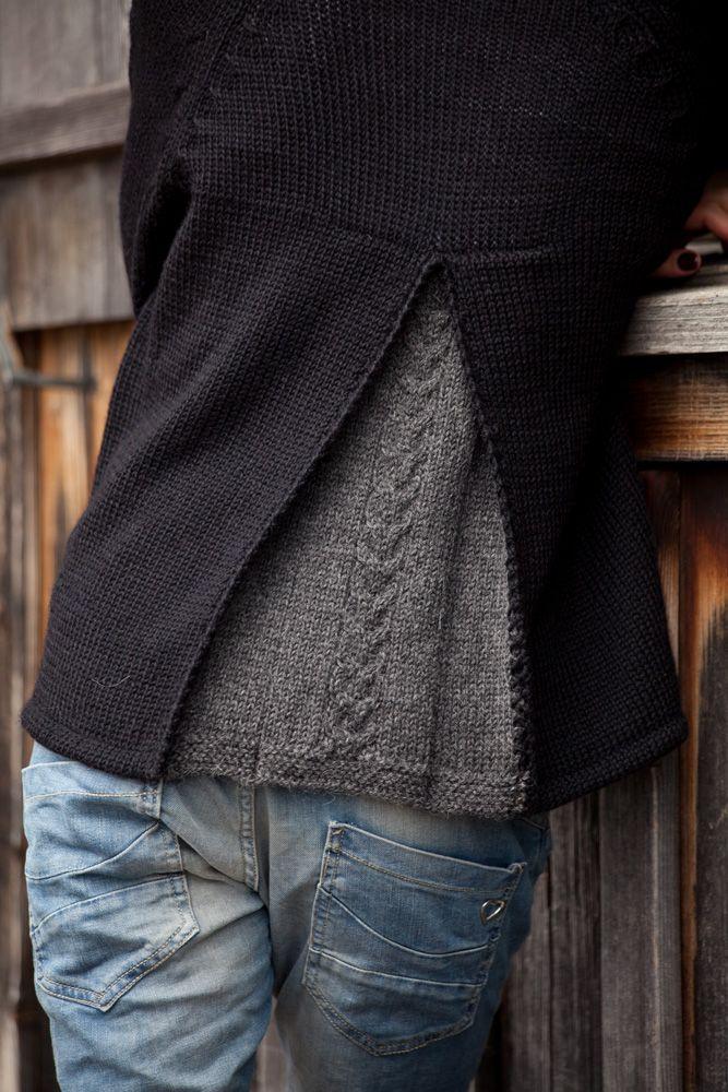 l ssige farben zopf falte einfach sch n gemacht gestricktes pinterest knit crochet. Black Bedroom Furniture Sets. Home Design Ideas
