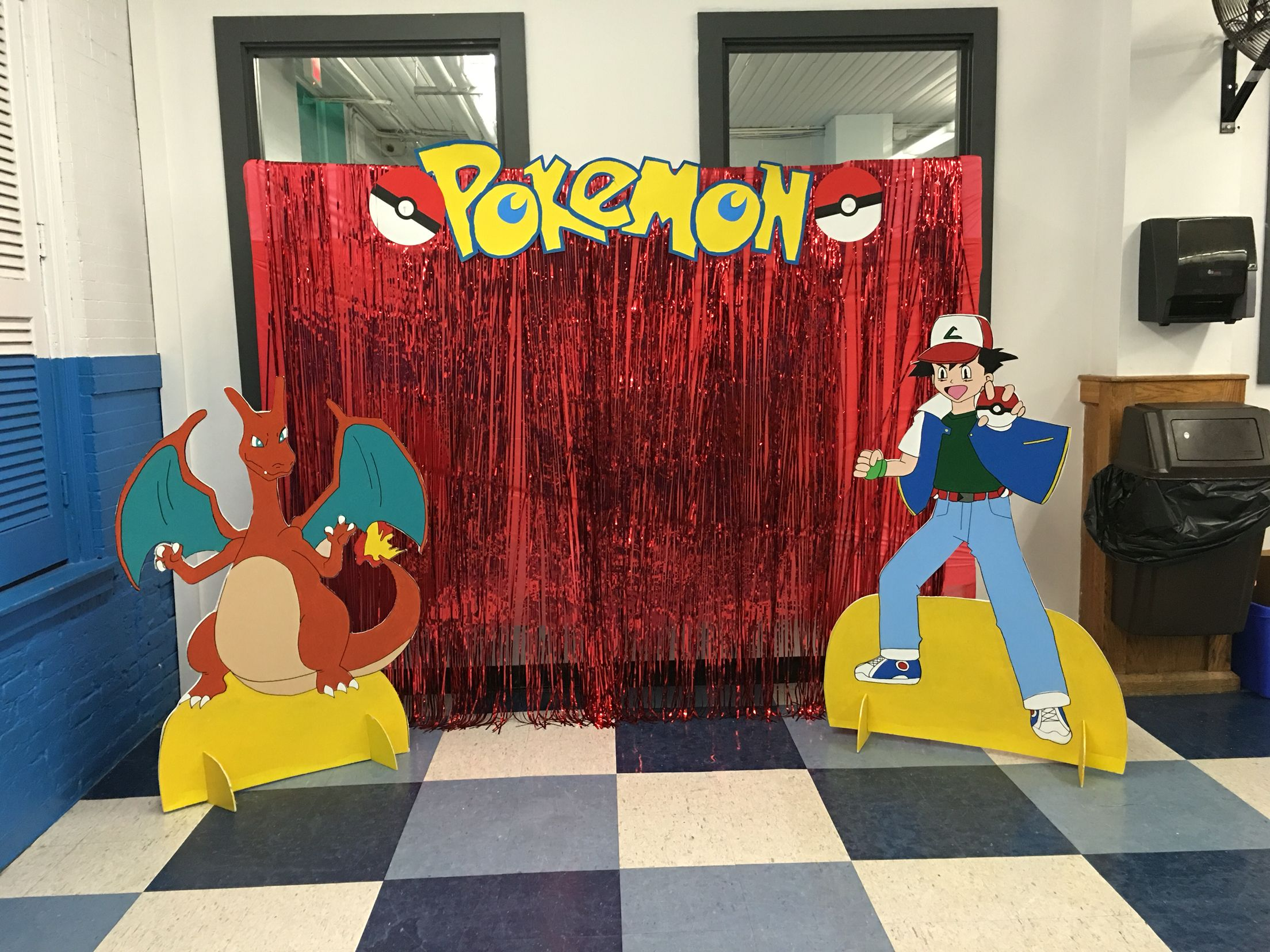 Pokemon booth Ale s Pikachu Party Pinterest