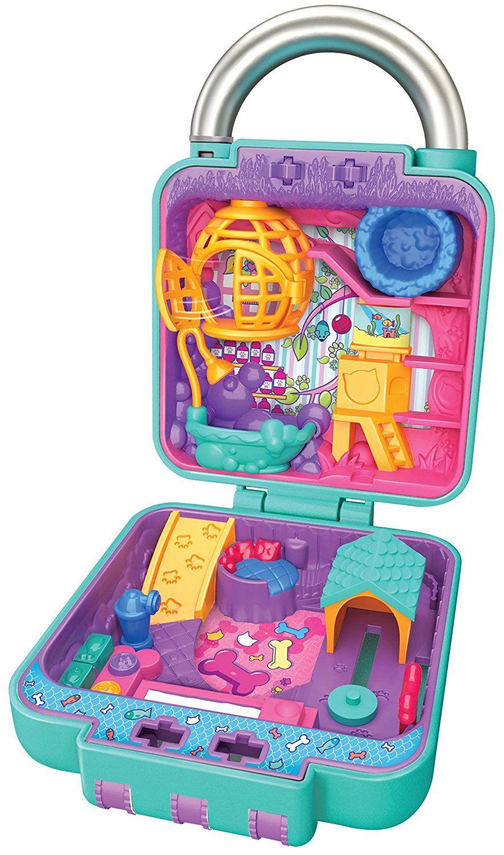 32a3edfbf Amazon.com  Shopkins Lil  Secrets Secret Lock - Pretty Paws Pet Salon  Toys    Games
