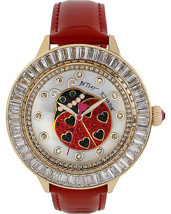 ladybug red strap watch how to accessorize your look go to