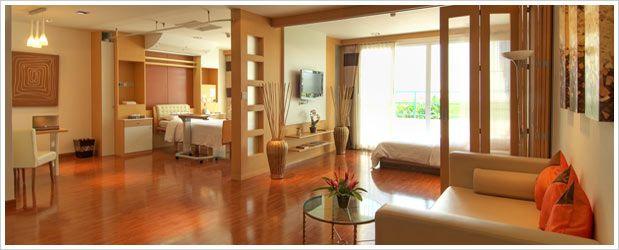 Hospital Architecture Interior Design Patient Room In Bangkok Phuket Thailand President