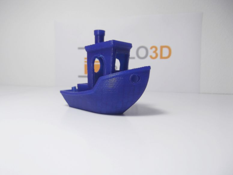 Impresora 3D ZYYX: Test Benchy