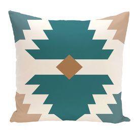 Mesa Geometric Print Throw Pillow