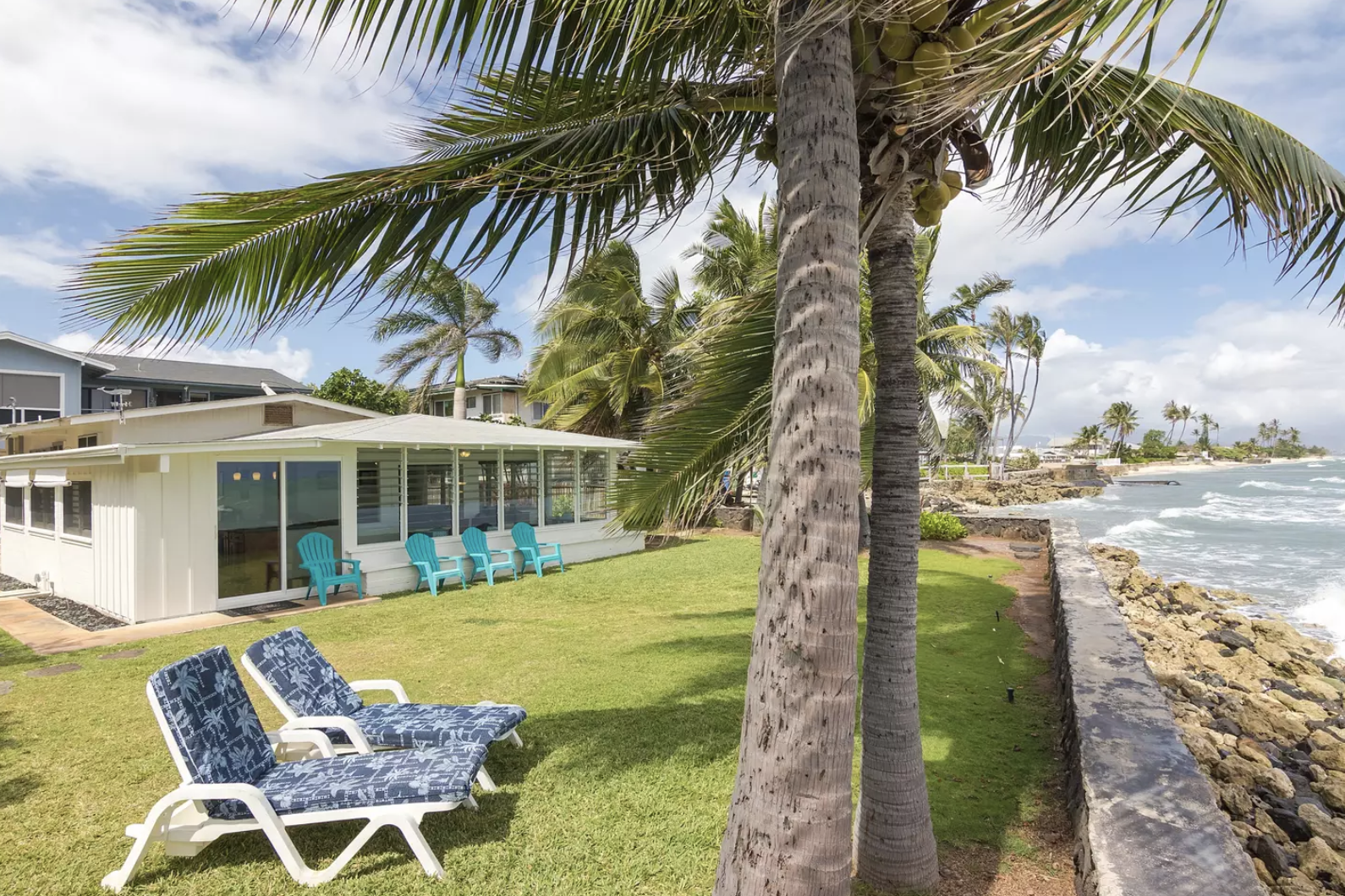 5 Best Beachfront Airbnbs In Hawaii Ewa Beach Bungalow Oahu Airbnb