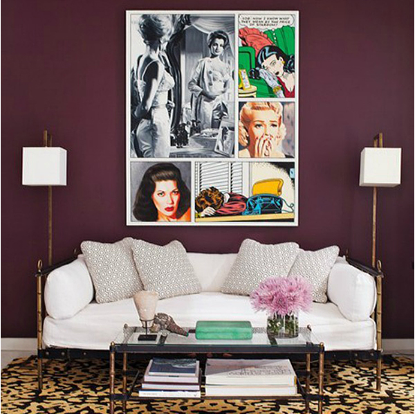 Comfy Cozy Couture: Pantone Color of the Year 2014 | Purple Living Spaces | Pantone 2014: Radiant Orchid