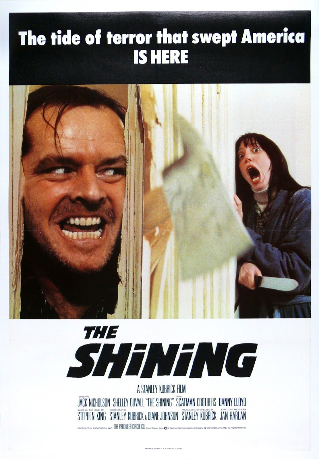 Movie Poster Art The Shining 1980 The Shining Poster Best Psychological Thriller Movies The Shining