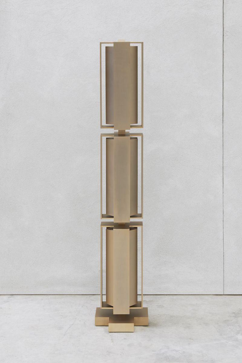 Joseph Dirand Lampe Totem 2015 Aluminium 169 X 30 X 30 Cm