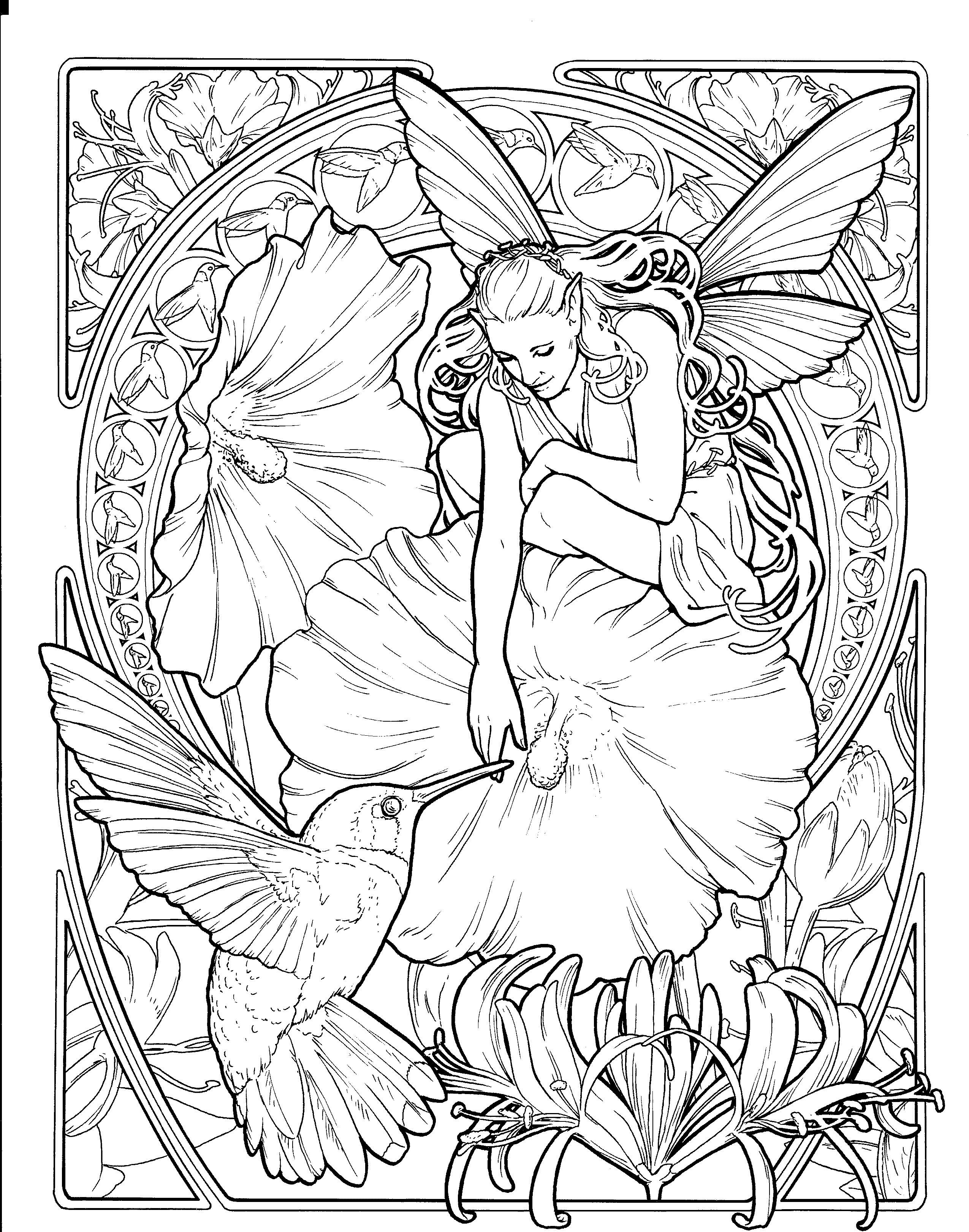 Sexy fairies coloring pages for teens hairy pussy free