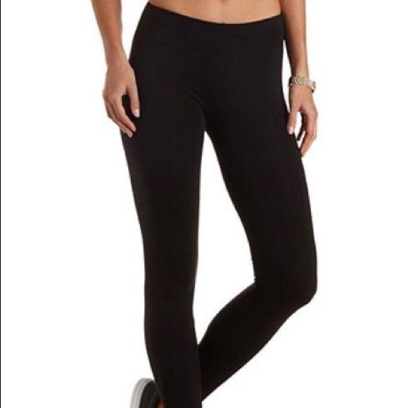 Steve Madden black leggings size S/M Steve Madden black leggings, size S/M Steve Madden Pants Leggings
