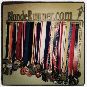 Wondering what to do with that box of race medals?  Get a high quality steel display for them.  Check out this product review. ~ Coach Lora Erickson http://blonderunner.com/2013/10/product-review-allied-medal-displays/