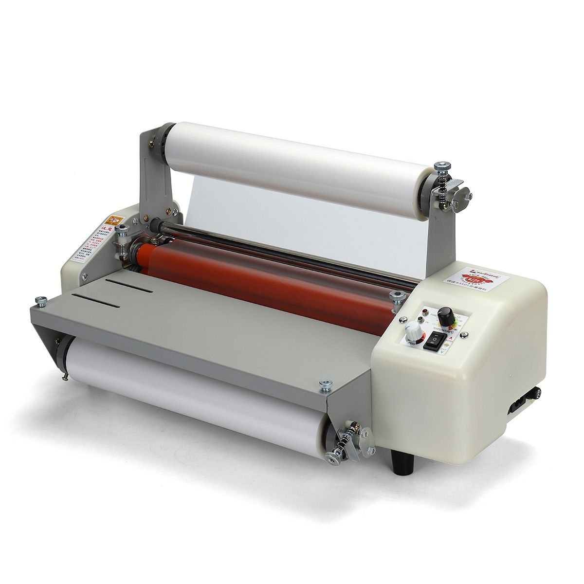 220v 12 Generation 8350t Laminator Four Rollers Hot Roll Laminating Machine A3 Laminators Roller Malaysia