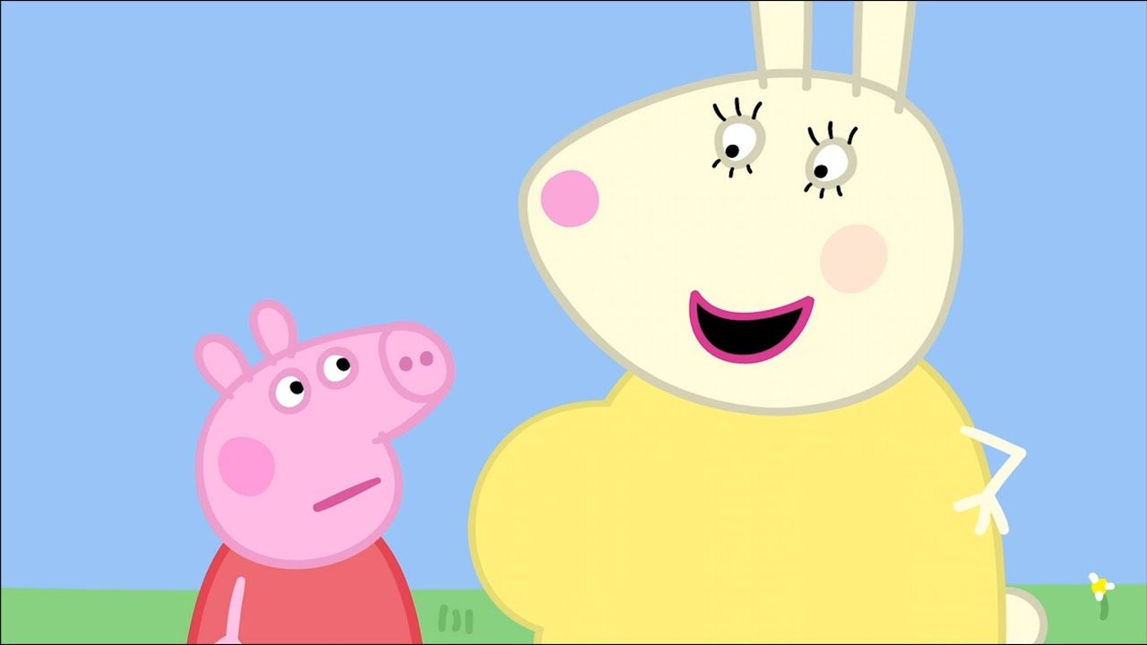 We Love Peppa Pig Mummy Rabbit S Bump 10 In 2020 Peppa Pig