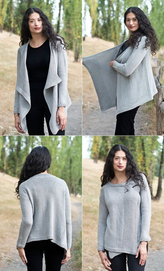 Free pattern Friday: My Favorite Cardigan | Tejido
