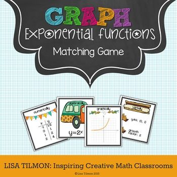 Ccss Hsf If C 7e Hsf Le A 2 This Algebra Matching Game Focuses On