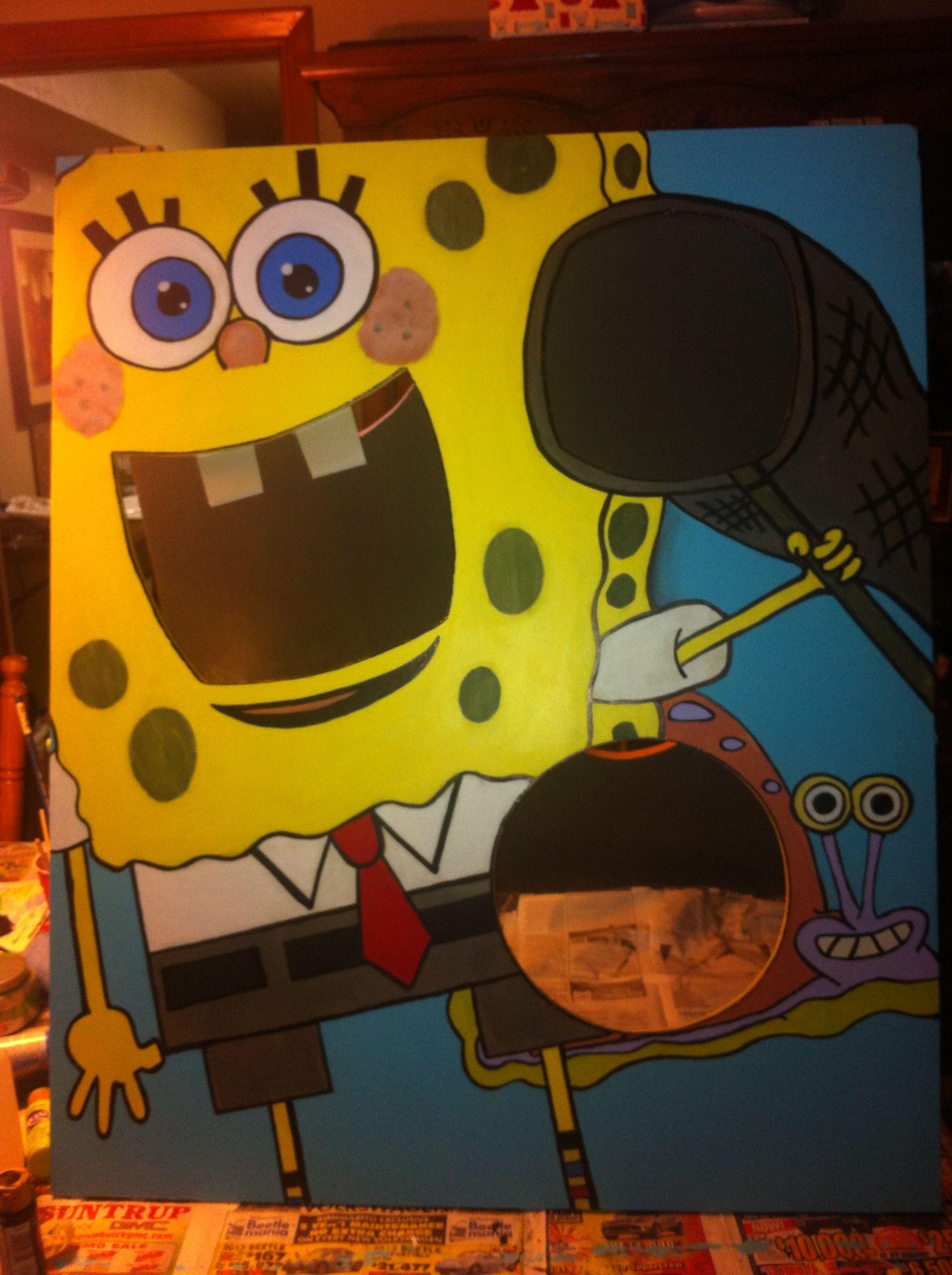My Spongebob Bean Bag Toss Game Game Creation Lukas 6
