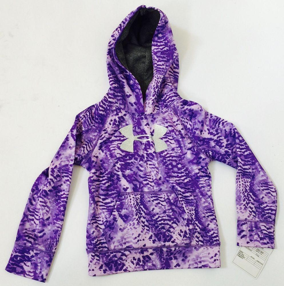1823d4bf New Under Armour Girls Purple Big Logo UA Hoodie #UnderArmour ...