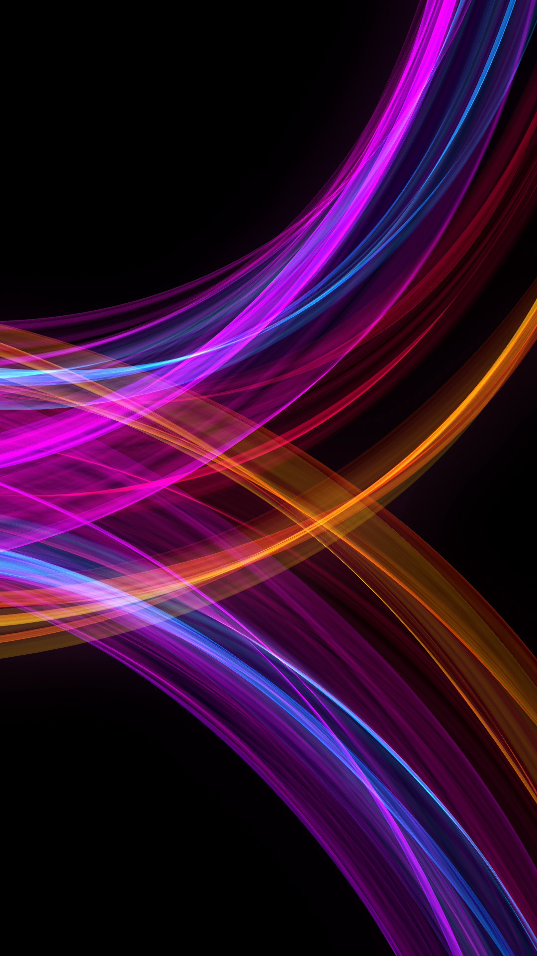 AMOLED neon waves [1080x1920] live wallpaper in comments Download at: http:/