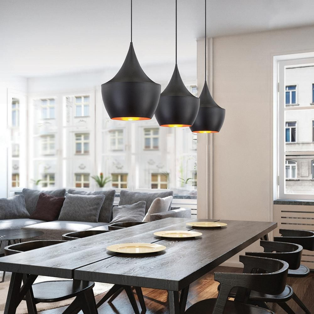 Kitchen Lighting Collections: Eurofase Piquito Collection 1-Light Black Pendant-20438