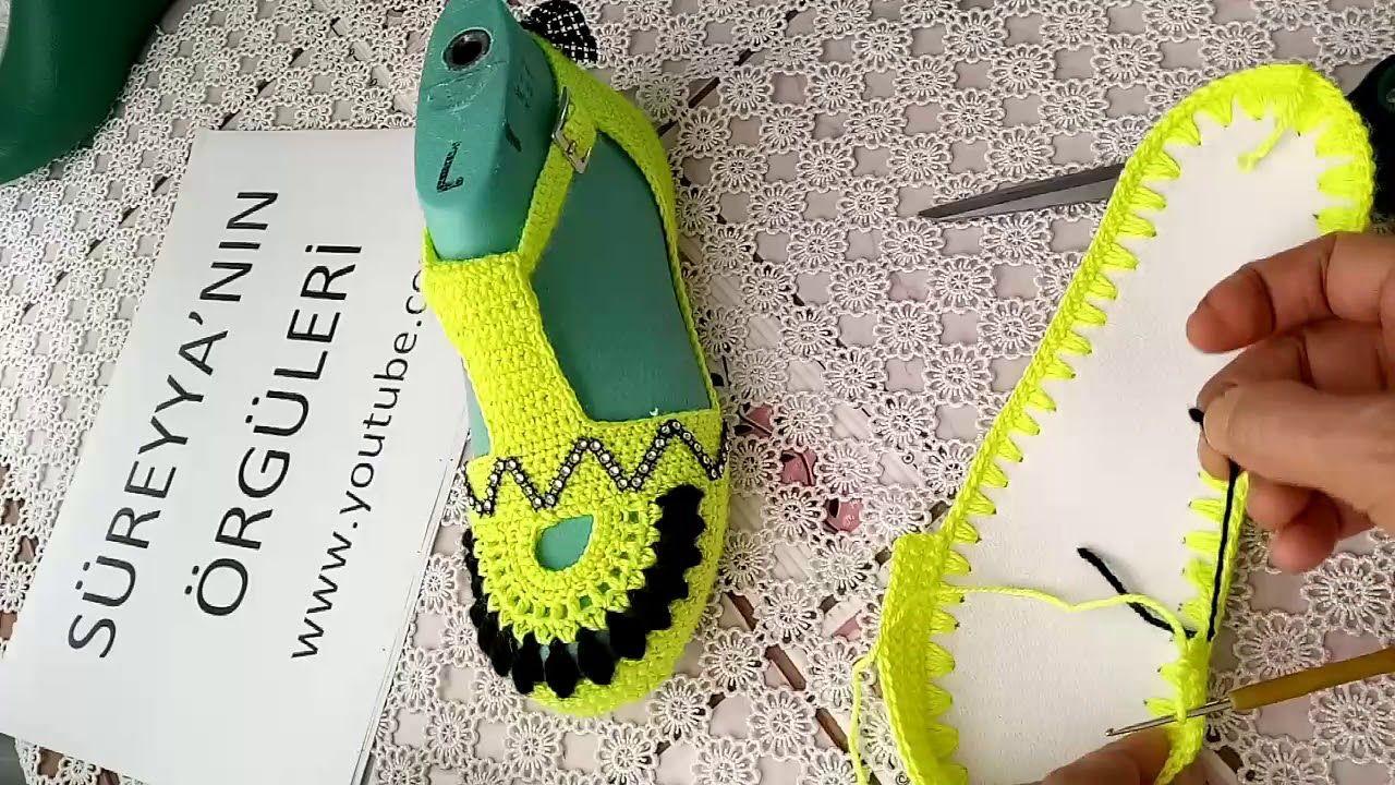 Örgü bebek sandalet yapımı #bebekpatikmodelleri #patikmodelleri ... | 720x1280