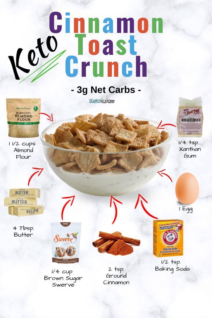 Keto Cinnamon Toast Crunch Recipe – Low Carb Cereal