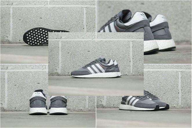 Really Cheap adidas Iniki Runner Boost Grey Ash Grey White Retro Running  Shoes 2018 cba9570f0