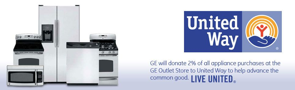 Ge Is Donating 2 Of All Ge Online Outlet Store Appliance Sales At