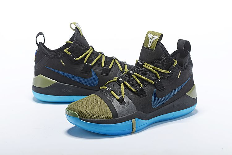 san francisco c91f6 5f6df inexpensive nike kobe mens womens sneakers annuzine 18b47 566aa  order nike  kobe ad black metallic gold blue basketball shoes 20ad9 a67f3