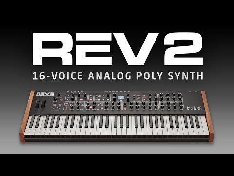 Dave Smith Instruments :: REV2 :: 16-Voice Polyphonic Analog