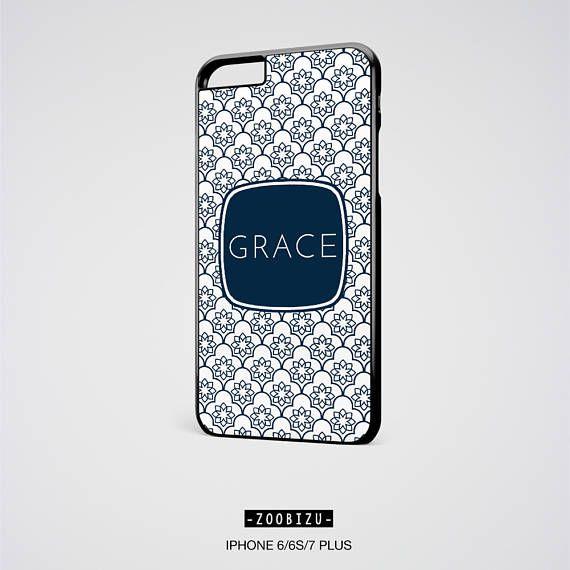 damask phone case personalized monogrammed custom iphone 6s case