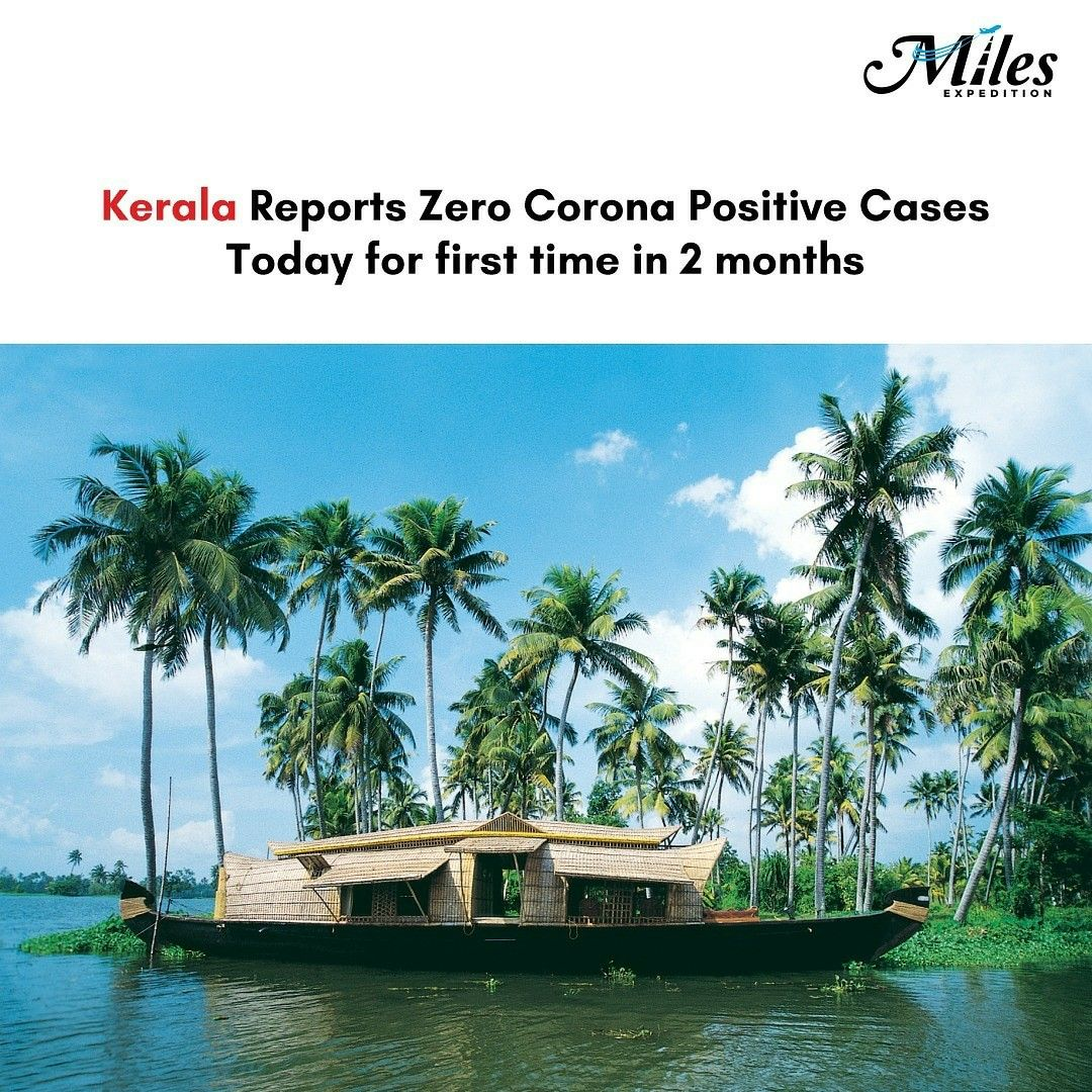 This is a miracle fight back by Kerala, from reporting first positive case and o…