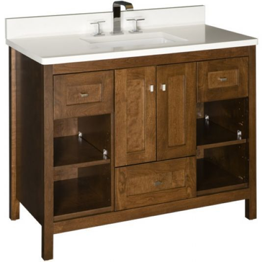 Chocolate Cherry Strasser Bathroom Vanities Pinterest Shaker Style Doors Shaker Style And