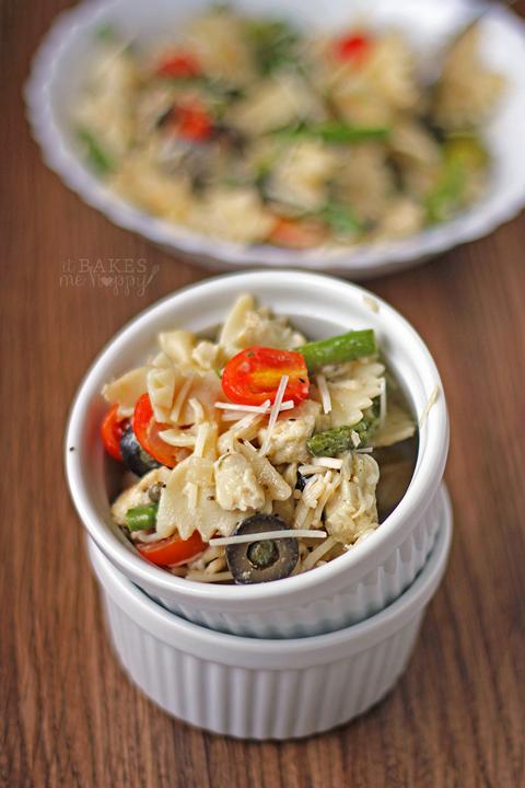 Chicken Asparagus Pasta Salad Recipe Summer