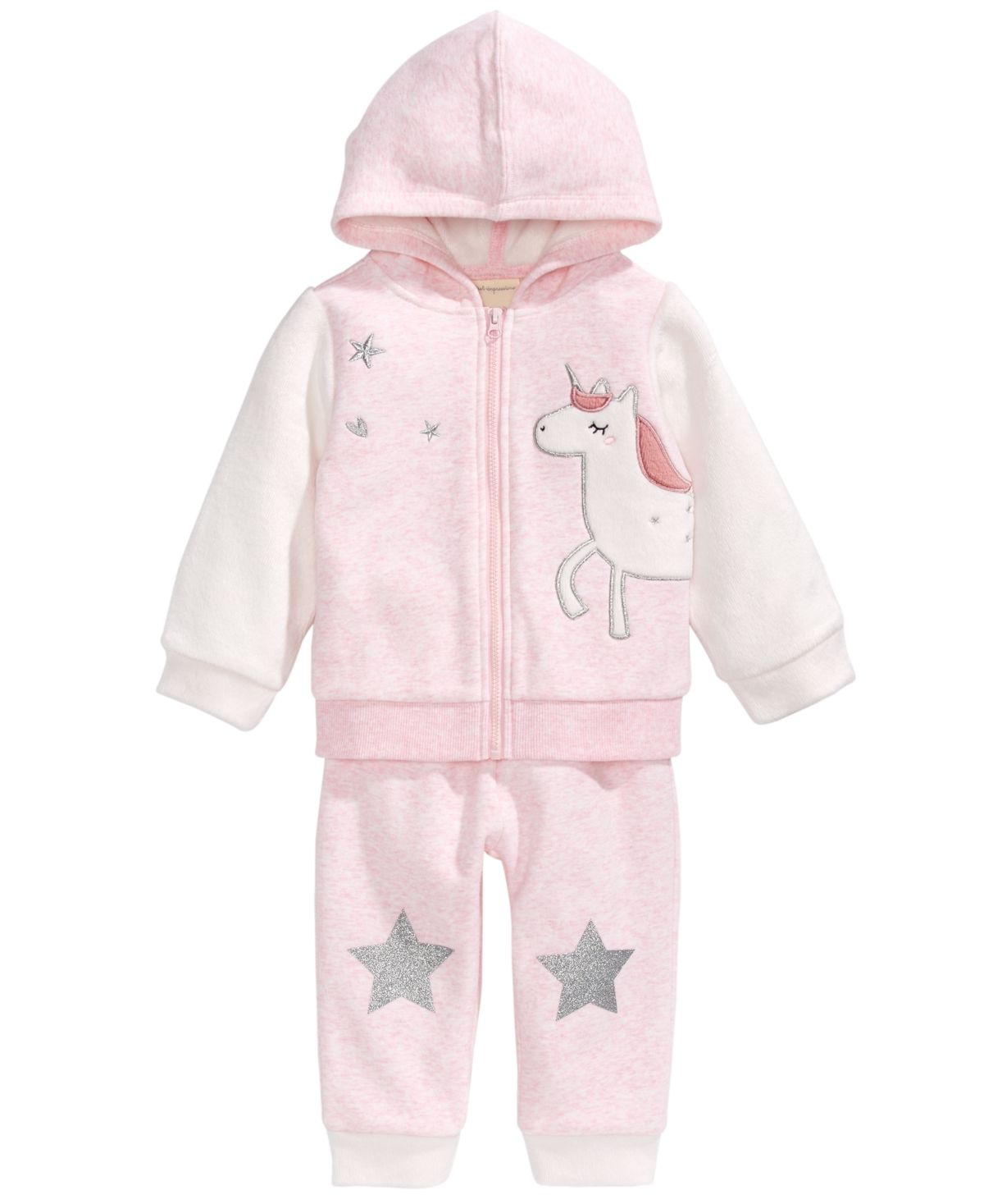 Toddler Girl Unicorn Hoodie