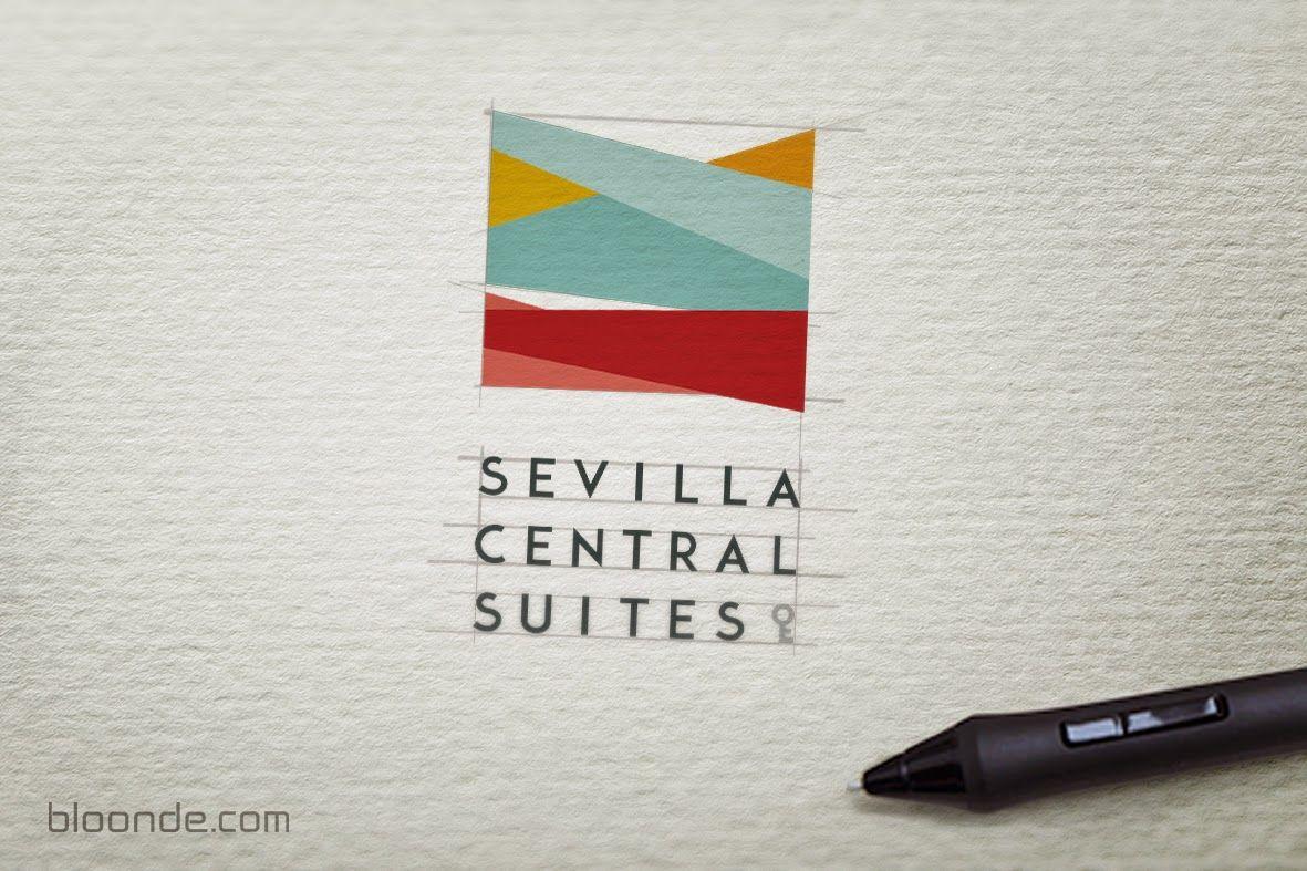 Identidad visual de Sevilla Central Suites: diseño de marca