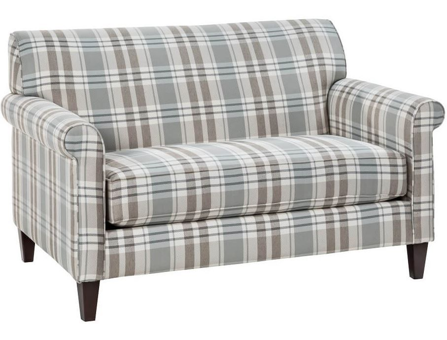 Strange Love This Perfectly Plaid Patterned Loveseat Love Seats Ibusinesslaw Wood Chair Design Ideas Ibusinesslaworg