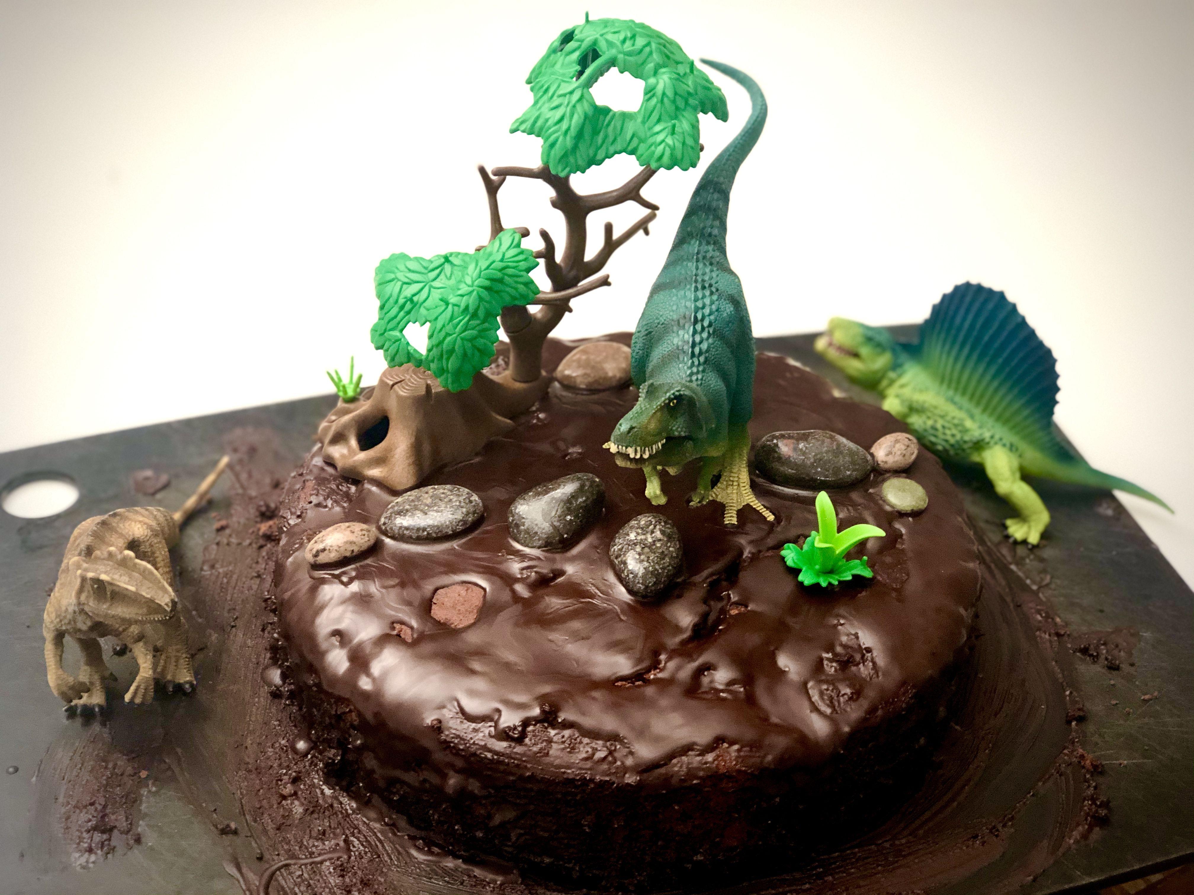 Dino Kuchen 8.Geburtstag   Kuchen kindergeburtstag dinosaurier ...
