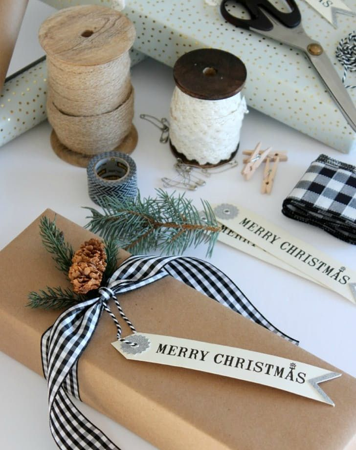 The 10 Most Gorgeous Christmas Gift Wrapping Ideas On Pinterest Christmas Gift Wrapping Holiday Wrap Holiday Gift Wrap