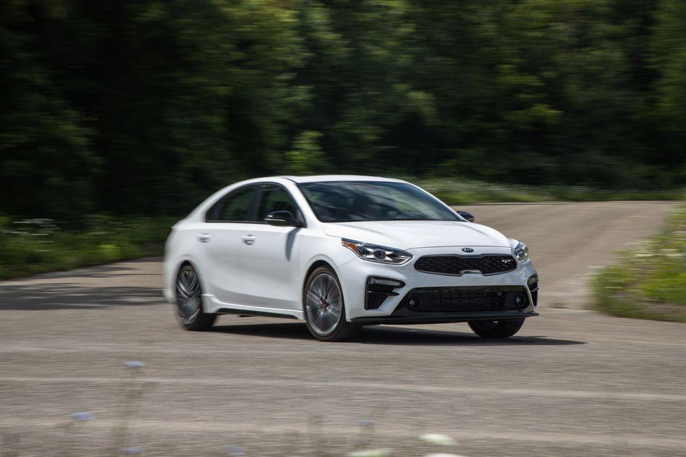 Tested 2020 Kia Forte Gt Puts Value Ahead Of Sportiness In 2020 Kia Forte Kia Sedan