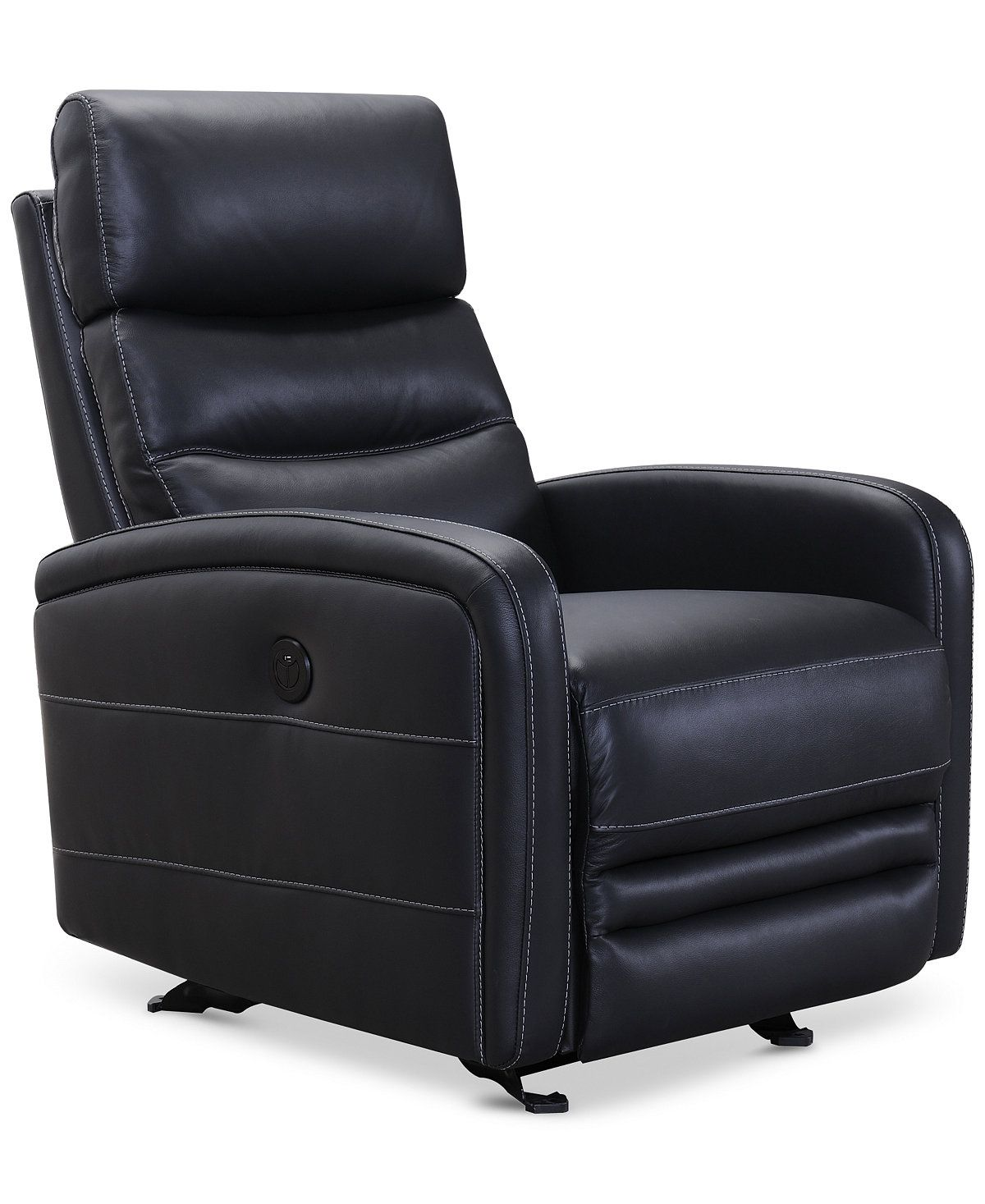 Electric Recliner Leather Chairs Jensen Leather Power Recliner With Usb Power Outlet Furniture