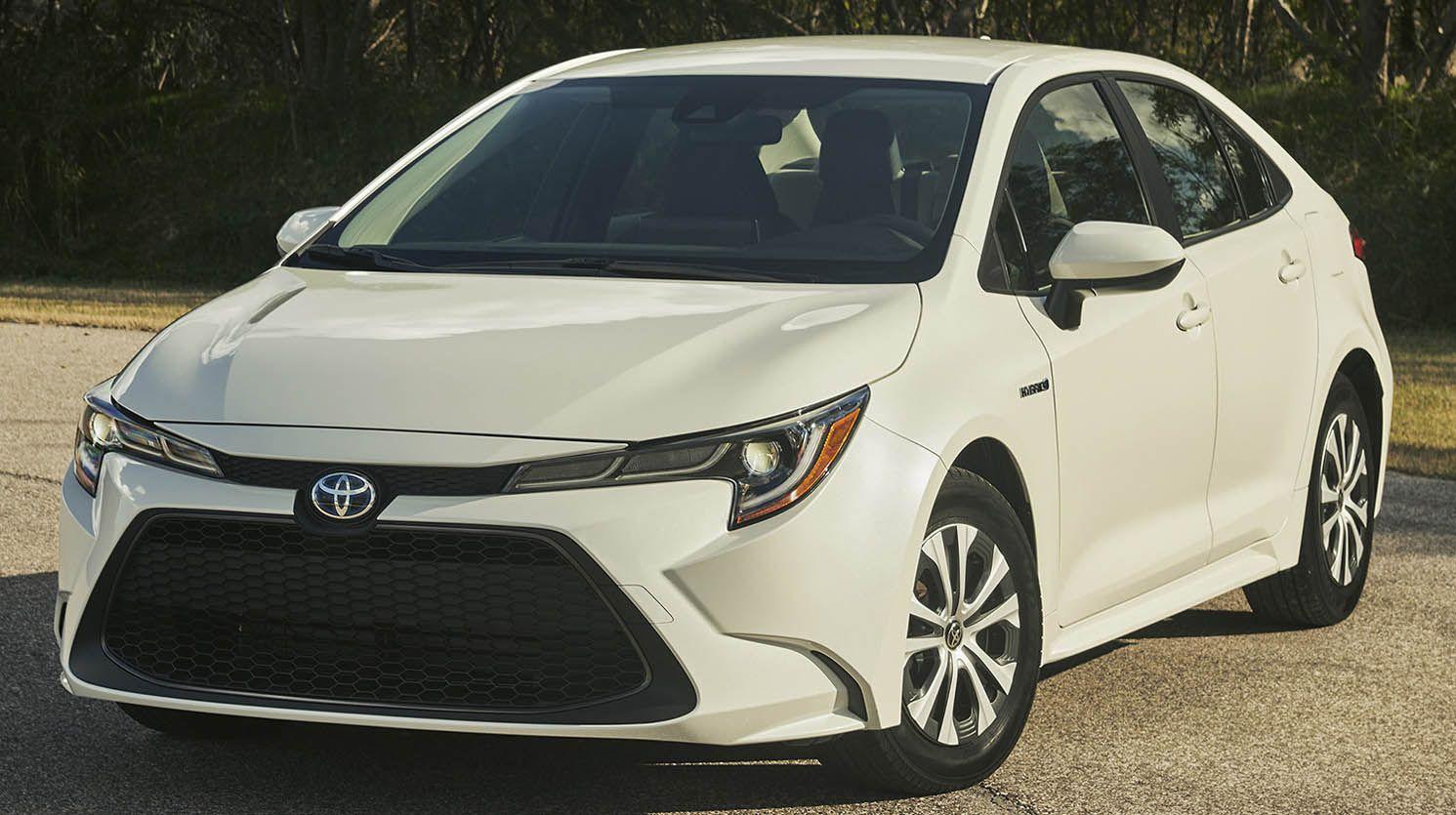 تويوتا كورولا سيدان هايبرد 2020 اشهر السيارات في التاريخ تحظى بالنظام الدفع الهجين موقع ويلز Toyota Corolla Sedan Toyota